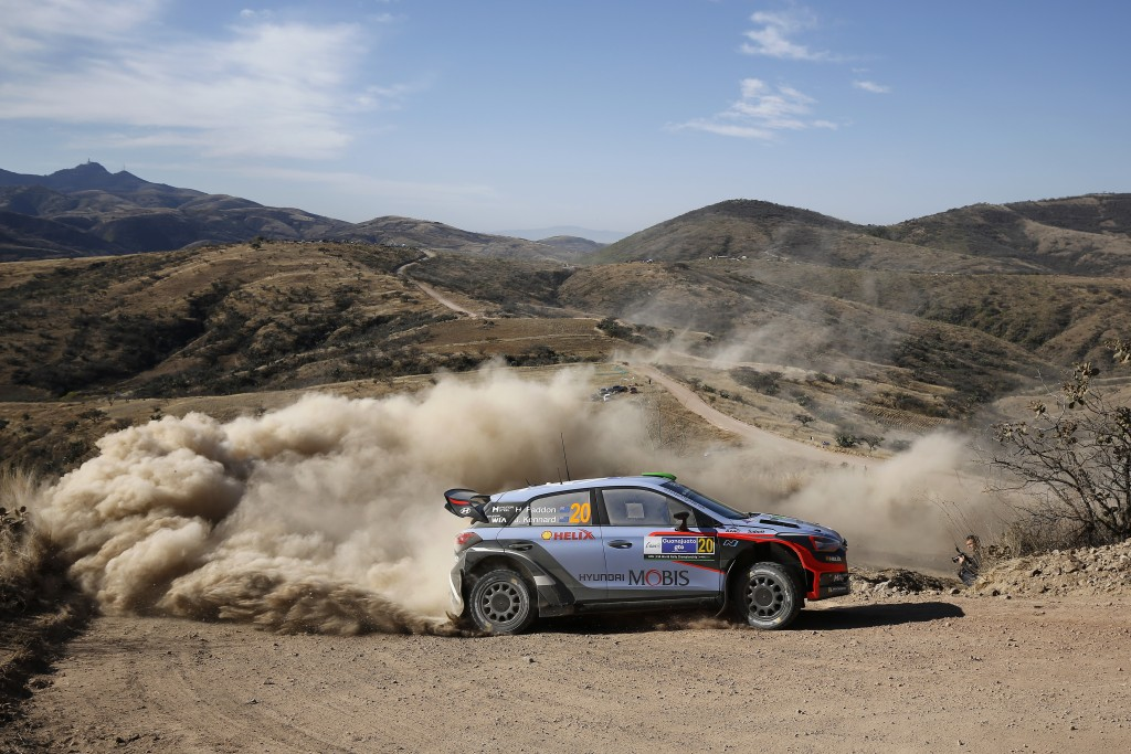 2016 FIA World Rally Championship / Round 03 /  Rally Mexico // March 3-6, 2016 // Worldwide Copyright: Hyundai Motorsport