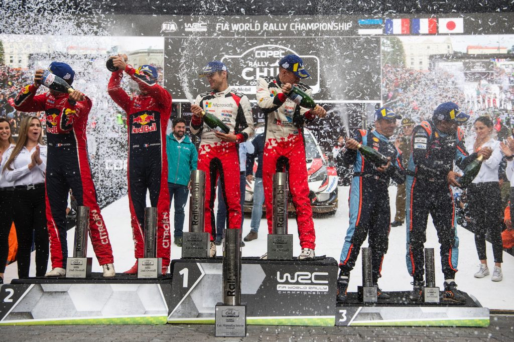 Rally Chile 2019 Podium