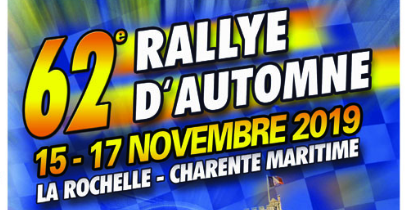 Rallye National d'Automne La Rochelle